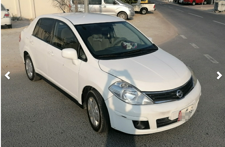 Used Nissan Tida For Rent in Al-Aziziyah , Doha-Qatar #5095 - 1  image